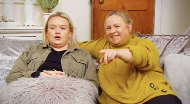 Paige and Sally on Gogglebox (Photo: Channel 4)