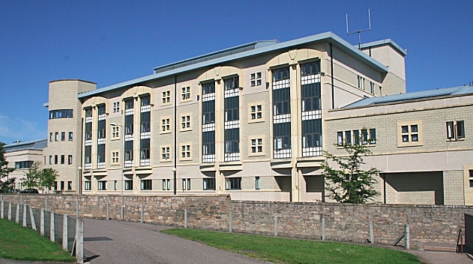 Dr Gray's Hospital in Elgin, Moray, is one of the hospitals to be working under a 'code black' status. (Wikipedia)