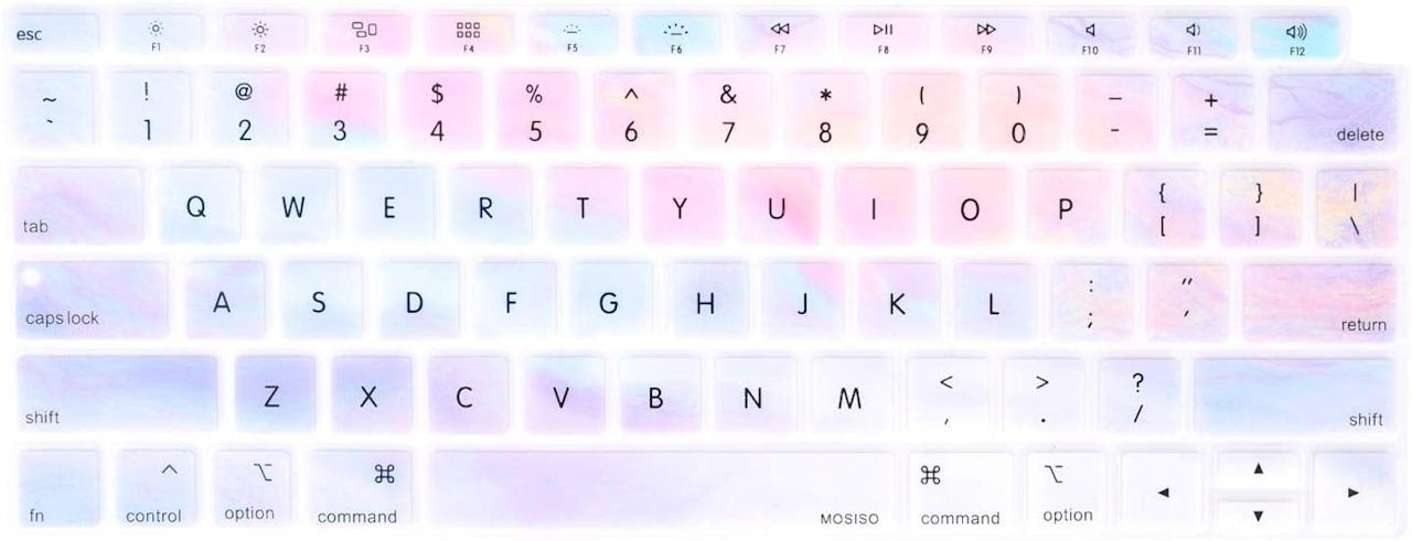 """<p>Spice up their computer with this pretty <a href=""""https://www.popsugar.com/buy/MOSISO-Keyboard-Cover-496549?p_name=MOSISO%20Keyboard%20Cover&retailer=amazon.com&pid=496549&price=7&evar1=geek%3Aus&evar9=36112587&evar98=https%3A%2F%2Fwww.popsugartech.com%2Fphoto-gallery%2F36112587%2Fimage%2F46701292%2FMOSISO-Keyboard-Cover&list1=gifts%2Choliday%2Cstocking%20stuffers%2Cgift%20guide%2Cdigital%20life%2Cgifts%20under%20%2425%2Cunder%20%24100%2Cgifts%20for%20women%2Cgifts%20for%20men&prop13=mobile&pdata=1"""" rel=""""nofollow"""" data-shoppable-link=""""1"""" target=""""_blank"""" class=""""ga-track"""" data-ga-category=""""Related"""" data-ga-label=""""https://www.amazon.com/MOSISO-Compatible-Waterproof-Dust-Proof-Protective/dp/B07KF3XKZ4/ref=sr_1_7?keywords=keyboard+cover&amp;qid=1569962187&amp;s=gateway&amp;sr=8-7"""" data-ga-action=""""In-Line Links"""">MOSISO Keyboard Cover </a> ($7).</p>"""