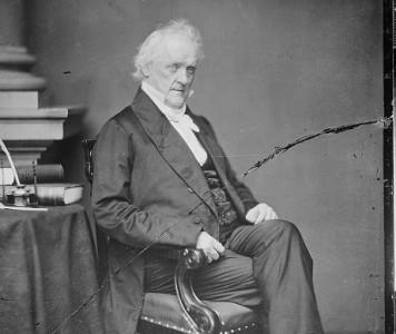 James Buchanan. Author: U.S. National Archives and Records Administration.