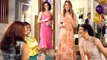 """<p>Based on the Girlfriends' Guides book series by Vicki Iovine, this Bravo comedy-drama revolves around self-help author Abby McCarthy and her group of gal pals who help her face the <a href=""""https://www.popsugar.com/family/Im-Divorced-Still-Do-Things-My-Ex-Our-Kids-45896332"""" class=""""link rapid-noclick-resp"""" rel=""""nofollow noopener"""" target=""""_blank"""" data-ylk=""""slk:impending end of her marriage"""">impending end of her marriage</a>. The series ran for five seasons, exploring both the funny and tragic moments of raising children and maintaining friendships in the face of divorce.</p> <p><a href=""""http://www.netflix.com/title/80029145"""" class=""""link rapid-noclick-resp"""" rel=""""nofollow noopener"""" target=""""_blank"""" data-ylk=""""slk:Watch Girlfriends' Guide to Divorce on Netflix"""">Watch <strong>Girlfriends' Guide to Divorce</strong> on Netflix</a>.</p>"""