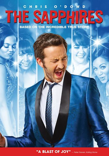 """This image is the DVD cover for the movie """"The Sapphires"""" distributed by American company Anchor Bay Entertainment. Anchor Bay is apologizing for the DVD cover, which some have called sexist and racist, and says it is considering new cover art for future shipments. The Australian DVD cover shows four actresses of various races prominently in the foreground, and Chris O'Dowd, who plays their manager, in the background. Their positions are inverted on the American cover to showcase O'Dowd. (AP Photo)"""