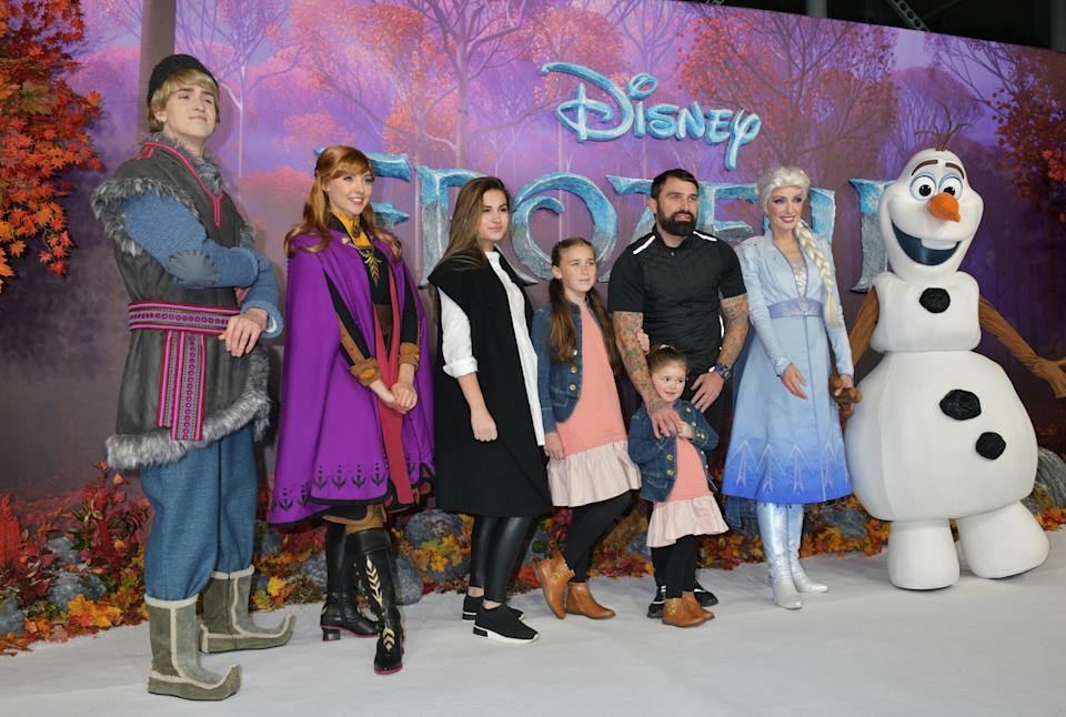 "LONDON, ENGLAND - NOVEMBER 17:   Ant Middleton and guests attend the European Premiere of ""Frozen 2"" at the BFI Southbank on November 17, 2019 in London, England.  (Photo by David M. Benett/Dave Benett/WireImage)"