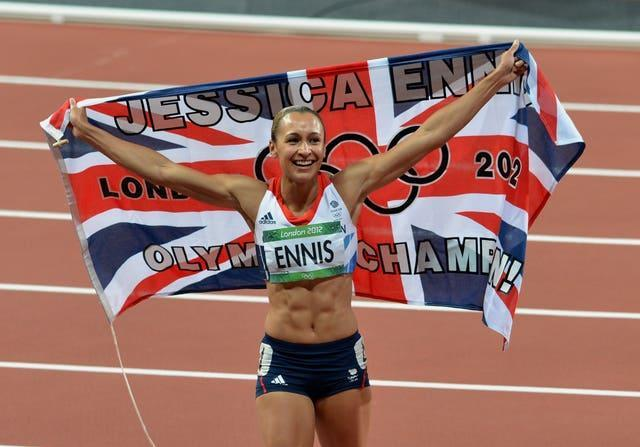 Dame Jessica Ennis-Hill shouldered huge expectation at the London 2012 Olympics