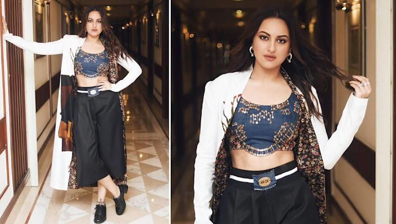 Yo or Hell No! Sonakshi Sinha Picks an Anamika Khanna Outfit for Mission Mangal Promotions