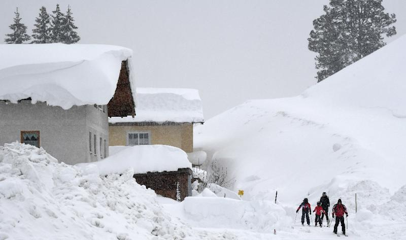Avalanche warnings issued across Alps region after deadly weekend