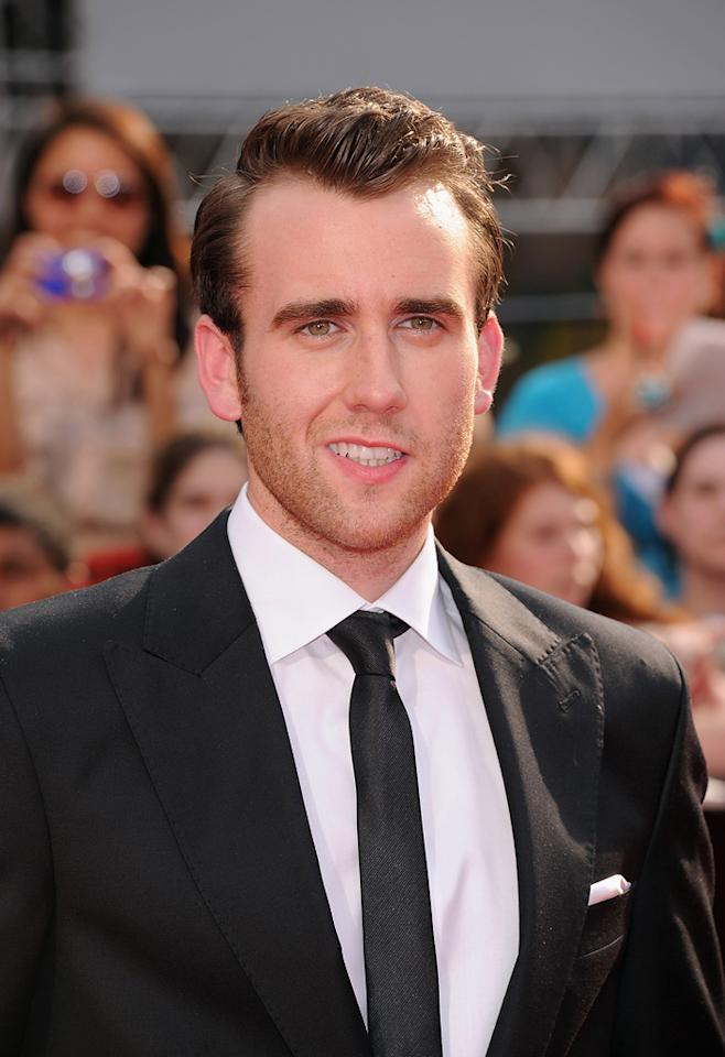 """<a href=""""http://movies.yahoo.com/movie/contributor/1800180728"""">Matthew Lewis</a> at the New York City premiere of <a href=""""http://movies.yahoo.com/movie/1810004624/info"""">Harry Potter and the Deathly Hallows - Part 2</a> on July 11, 2011."""