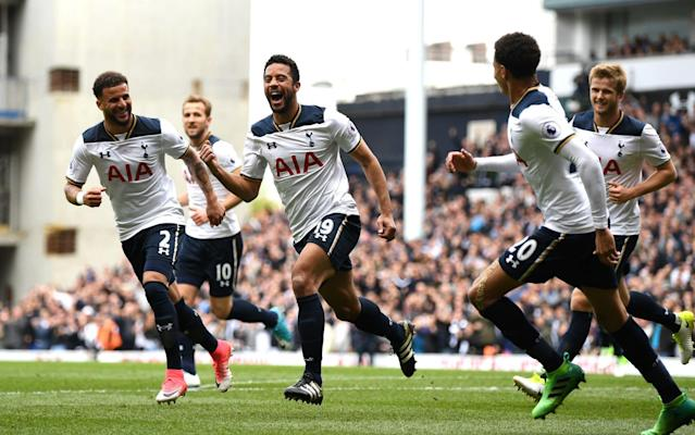 <span>Tottenham made is seven games unbeaten in the Premier League</span> <span>Credit: getty images </span>