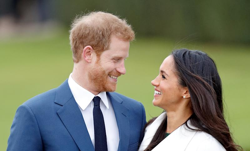 Prince Harry has arrived in Canada where Meghan is waiting with baby Archie. Photo: Getty Images