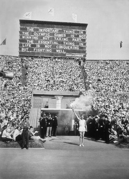 <p>The Summer Games were a much bigger affair, and attended by the Royal Family. In addition to the parade of nations, the Royal Horse Artillery sounded a 21-gun salute and the Torch Relay ended with a lap around the track at Wembley Stadium before climbing the stairs to the Olympic cauldron to light the flame. </p>
