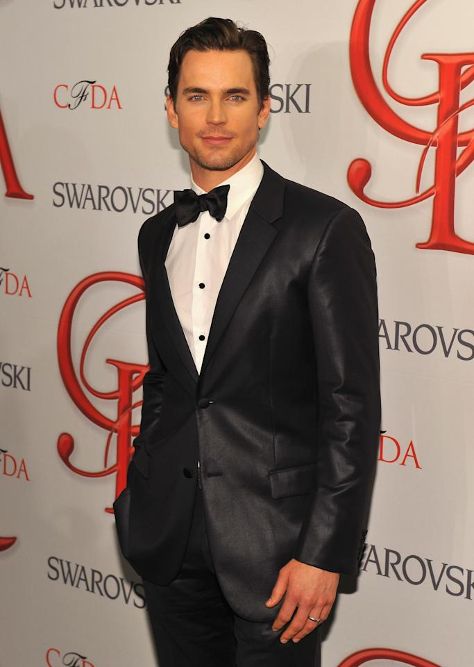 NEW YORK, NY - JUNE 04:  Actor Matt Bomer attends the 2012 CFDA Fashion Awards at Alice Tully Hall on June 4, 2012 in New York City.  (Photo by Larry Busacca/Getty Images)