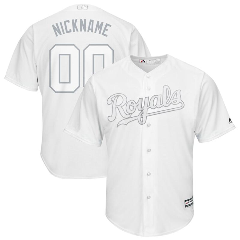 Kansas City Royals 2019 Players' Weekend Pick-A-Player Roster Jersey