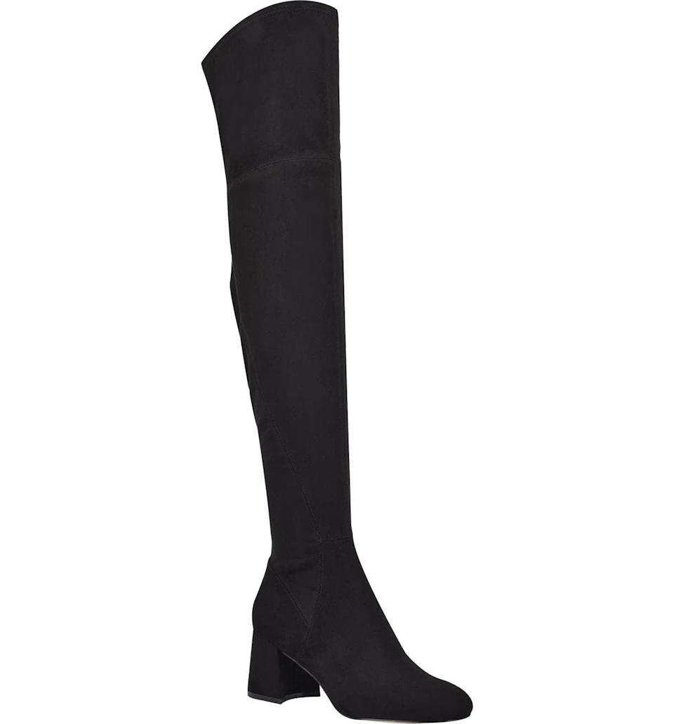 <p><span>Marc Fisher LTD Yahila Over the Knee Boots</span> ($149, originally $249)</p>