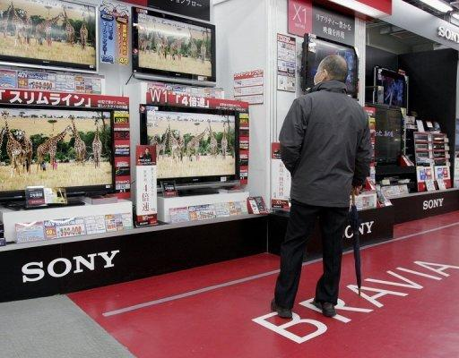 Sony highlights Japan electronics firms' woes