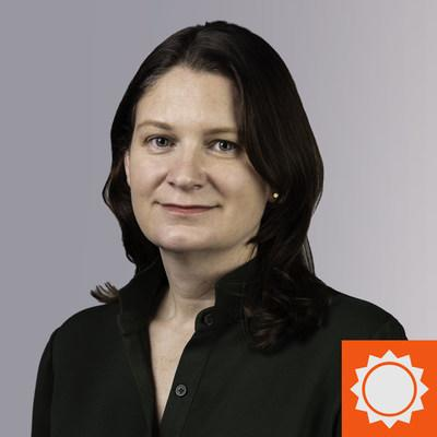 Sarah Katt, newly named General Manager at AccuWeather Network.