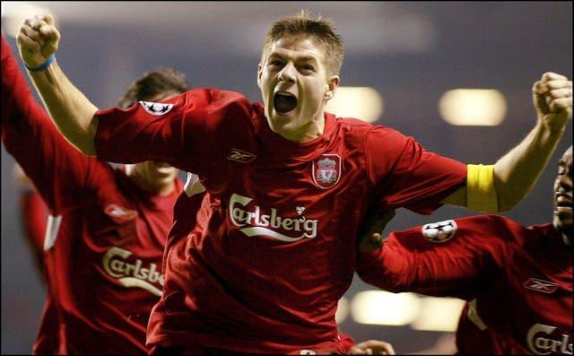 Steven Gerrard also inspired their win over Olympiacos (Phil Noble/PA Images)