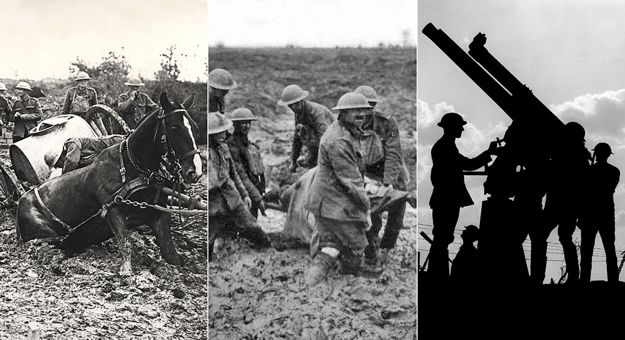 <p>Today marks the 100th anniversary of the beginning of the Battle of Passchendaele. </p>