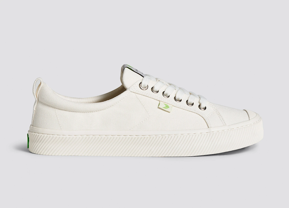 """<h2>Cariuma OCA Low Canvas Sneaker</h2><br>Our fashion writer, Emily Ruane, went on a journey to unearth <a href=""""https://refinery29.com/en-us/best-travel-shoes"""" rel=""""nofollow noopener"""" target=""""_blank"""" data-ylk=""""slk:the best travel shoes"""" class=""""link rapid-noclick-resp"""">the best travel shoes</a> — according to people who actually travel in them — and this pair of white-canvas kicks by Cariuma (my personal rec!) came out as a top-carted readers' choice. My review of the shoe highlighted its style versatility (aka the ability to be dressed up or down) and overall walkability (aka comfortable enough to walk 13 miles through Paris in, blister-free).<br><br><em>Shop <strong><a href=""""https://cariuma.com/collections/women/products/oca-low-off-white-canvas-sneaker-women"""" rel=""""nofollow noopener"""" target=""""_blank"""" data-ylk=""""slk:Cariuma"""" class=""""link rapid-noclick-resp"""">Cariuma</a></strong></em><br><br><strong>Cariuma</strong> Oca Low Canvas Sneakers, $, available at <a href=""""https://go.skimresources.com/?id=30283X879131&url=https%3A%2F%2Fcariuma.com%2Fproducts%2Foca-low-off-white-canvas-sneaker-women"""" rel=""""nofollow noopener"""" target=""""_blank"""" data-ylk=""""slk:Cariuma"""" class=""""link rapid-noclick-resp"""">Cariuma</a>"""