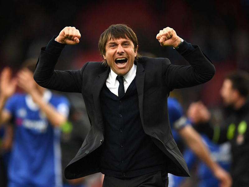 Antonio Conte saw his Chelsea side edge closer towards the Premier League title with a win over Manchester City (Getty)