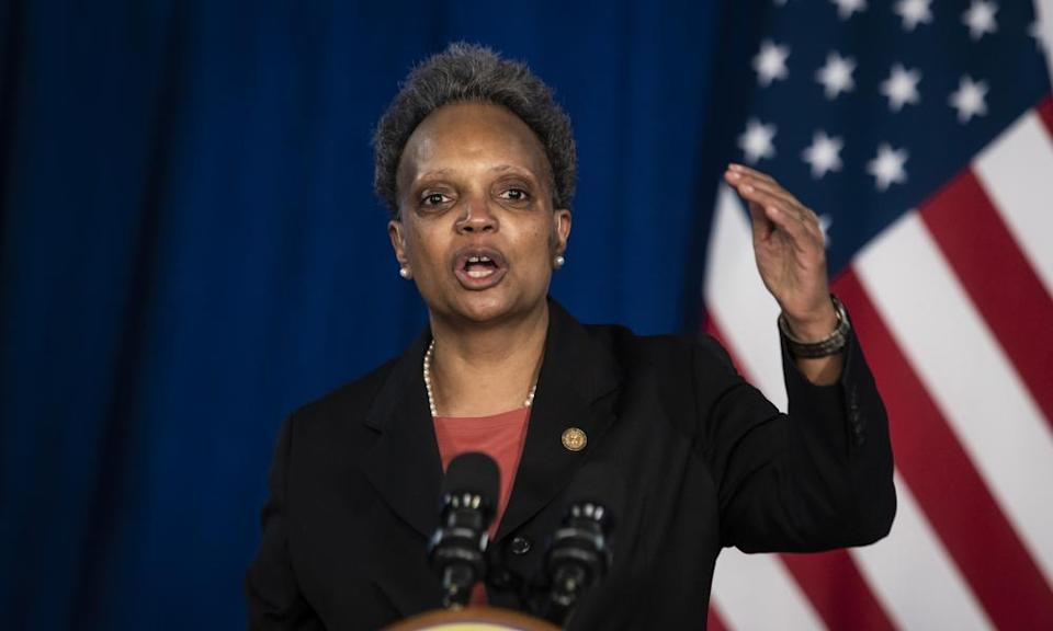 Mayor Lori Lightfoot discusses the videos of the shooting of Adam Toledo.