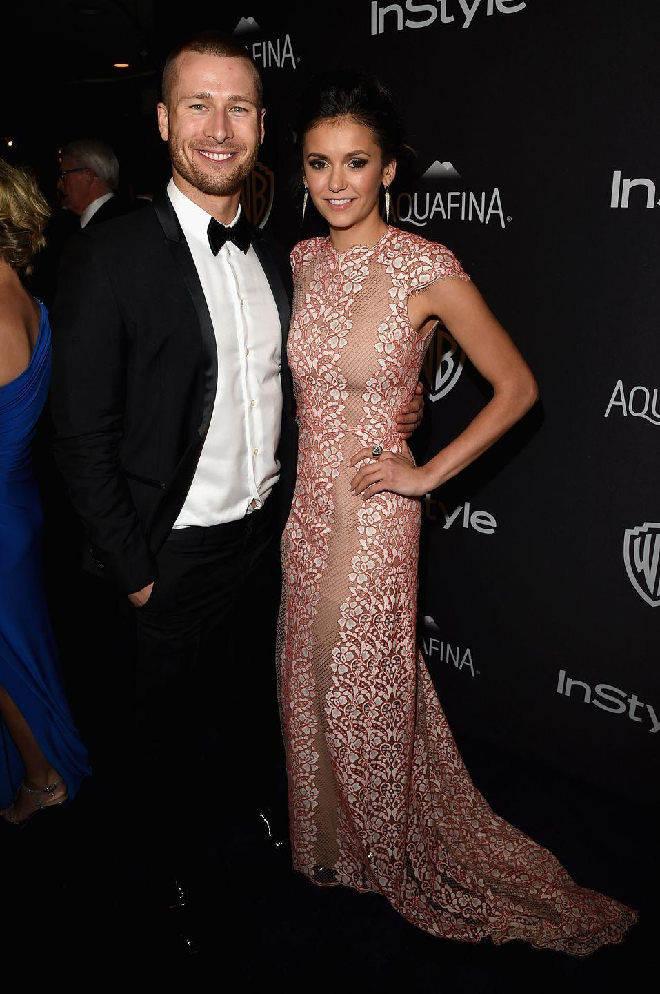 "<p>Dobrev and Powell began dating in the summer of 2017, but the couple decided to slow things down in November of that year. They reportedly chose to take a break because of Dobrev's busy schedule, <a href=""http://www.eonline.com/news/897118/nina-dobrev-and-glen-powell-taking-time-apart-amid-busy-schedules"" rel=""nofollow noopener"" target=""_blank"" data-ylk=""slk:E! News"" class=""link rapid-noclick-resp""><em>E! News</em></a> reports. </p>"