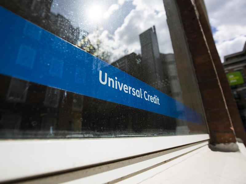 Universal Credit is replacing previous benefits and requires internet access: Getty