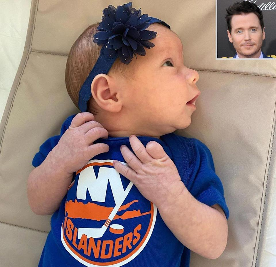 Kevin Connolly baby