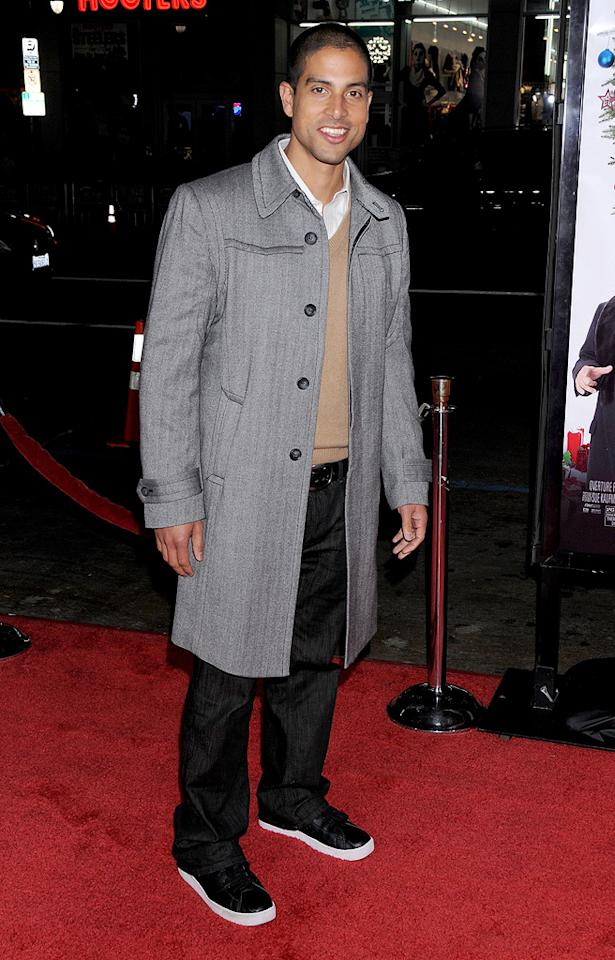 """<a href=""""http://movies.yahoo.com/movie/contributor/1804725965"""">Jay Hernandez</a> at the Los Angeles premiere of <a href=""""http://movies.yahoo.com/movie/1809991685/info"""">Nothing Like the Holidays</a> - 12/03/2008"""