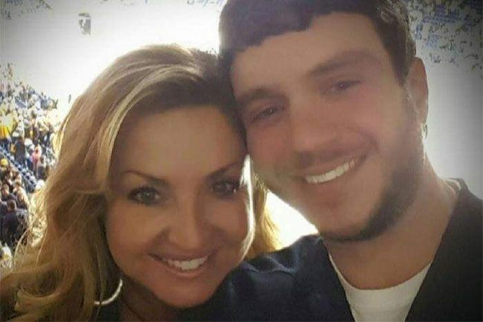 Tennessee resident Sonny Melton died while using his body to shield his young wife. Source: Facebook
