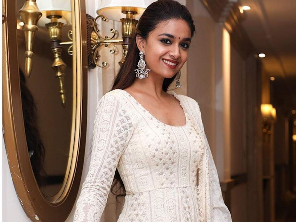 This is how Keerthy Suresh reacted when a fan asked her to marry him |  Tamil Movie News - Times of India