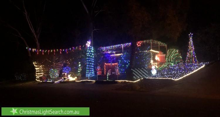 <p>4 Stacy Street, Gowrie, ACT. Photo: Christmaslightsearch </p>