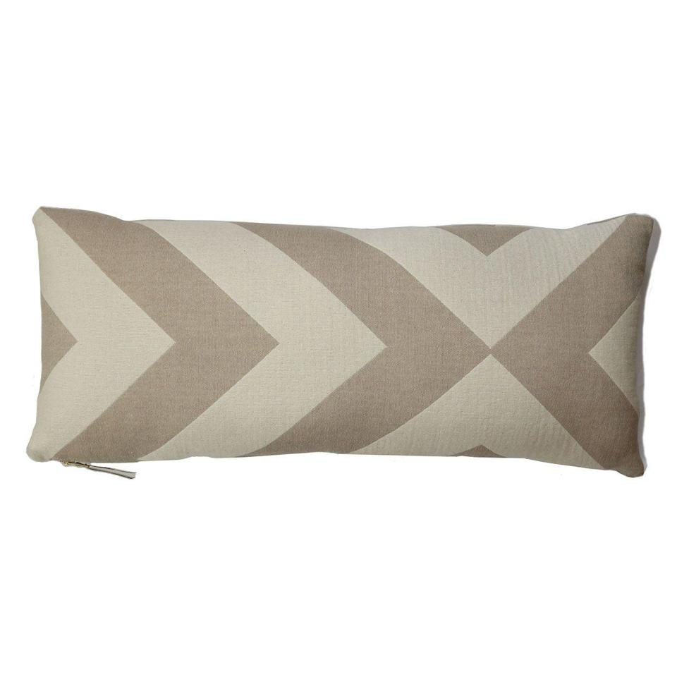 """<p><strong>Johanna Howard</strong></p><p>johannahoward.com</p><p><strong>$195.00</strong></p><p><a href=""""https://www.johannahoward.com/collections/pillow/products/lagom-pillow-long-lumbar"""" rel=""""nofollow noopener"""" target=""""_blank"""" data-ylk=""""slk:Shop Now"""" class=""""link rapid-noclick-resp"""">Shop Now</a></p><p>A shorter, longer lumbar pillow will give you extra back support when sitting down, but this bold striped one looks anything but orthopedic.</p>"""