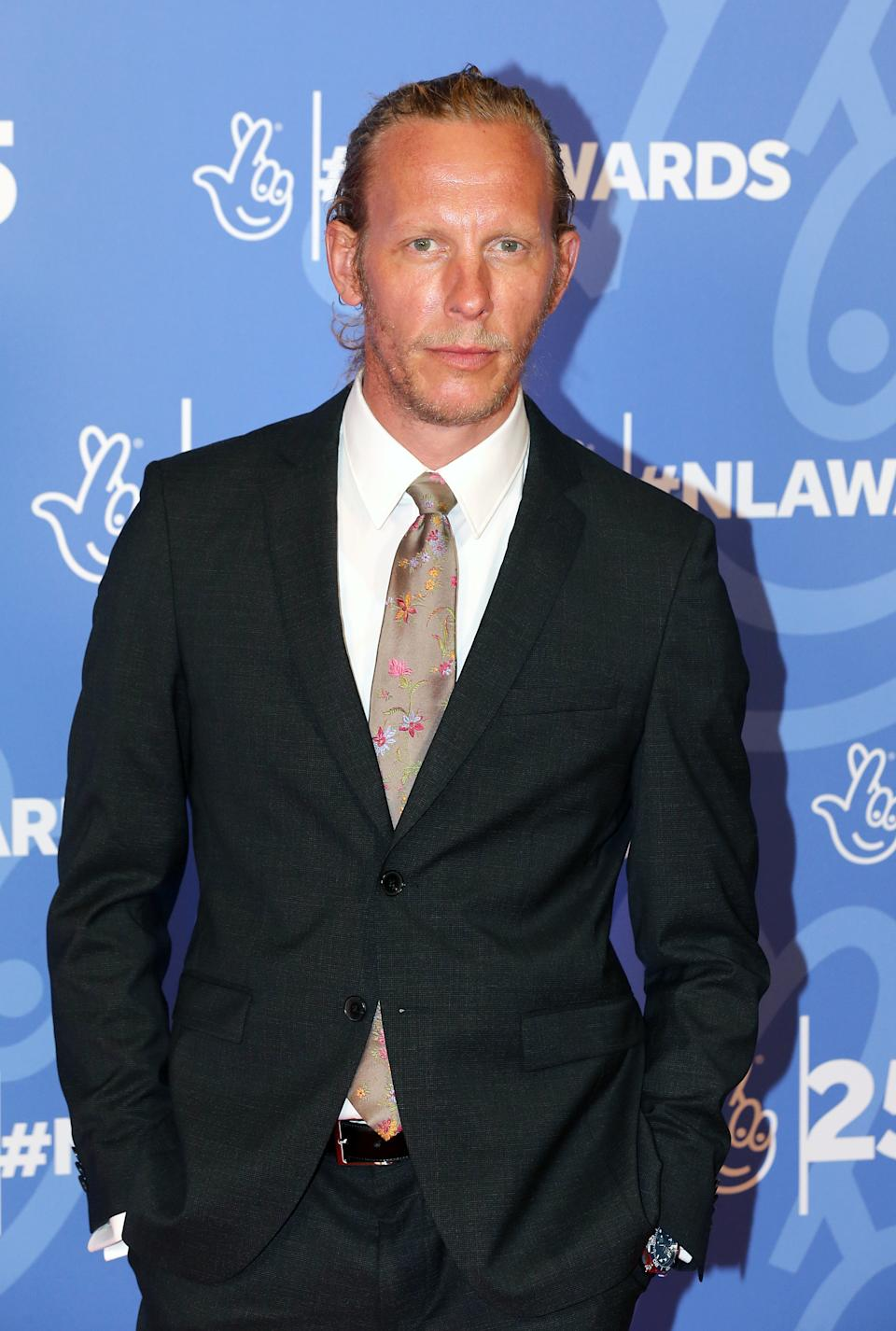 Laurence Fox attending the 25th Birthday National Lottery Awards, the search for the UK's favourite National Lottery-funded projects.