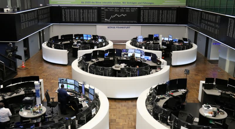 Global stocks grind higher on recovery hopes