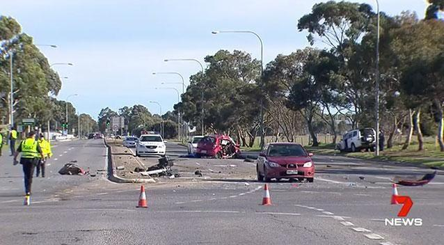 Five youths were initially hit with manslaughter charges after the fatal crash. Photo: 7 News