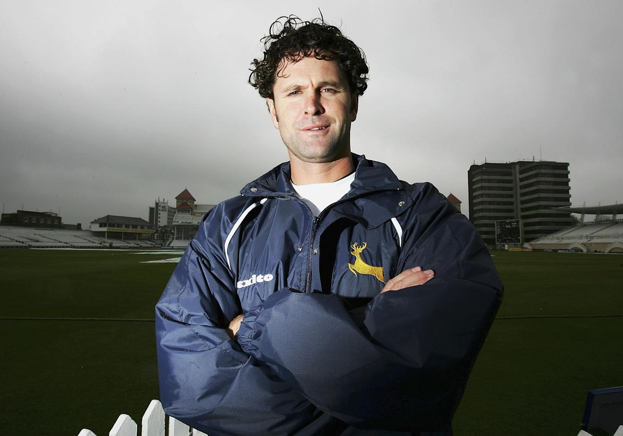 Chris Cairns of Nottinghamshire is pictured at Trent Bridge before the Liverpool Victoria County Championship Division One match between Nottinghamshire and Yorkshire at Trent   Bridge on April 21, 2006 in Nottingham, England.