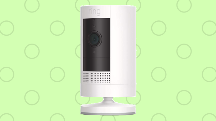 The Ring Stick Up Cam is weather-proof: Use it indoors or out. (Photo: Amazon)