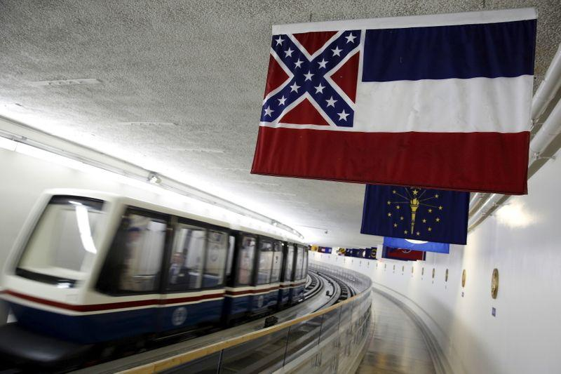 Mississippi moves to change its state flag