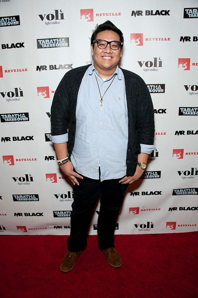 """Daniel Nguyen attends Bravo's """"Tabatha Takes Over"""" premiere party at Mr. Black on January 10, 2012 in Los Angeles, California."""