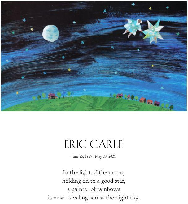 Carle's family announced his death with a tribute on his website. (Photo: Family of Bobbi and Eric Carle)