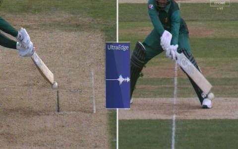 Fakhar out - Credit: Sky Sports