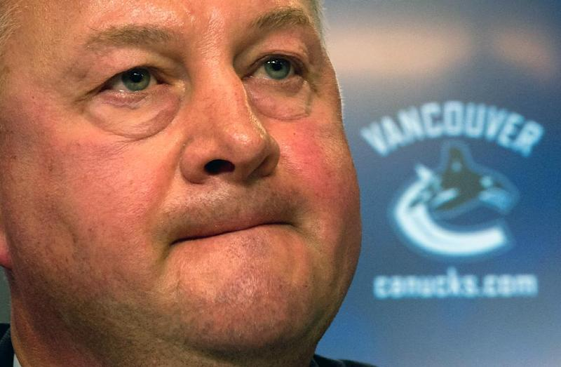 Canucks fire GM Gillis after missing playoffs