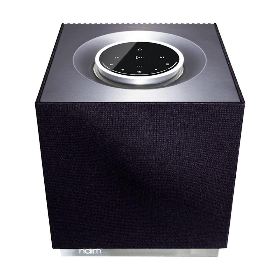 """<p><strong>Naim</strong></p><p>amazon.com</p><p><strong>$950.00</strong></p><p><a href=""""https://www.amazon.com/dp/B07YN72RH4?tag=syn-yahoo-20&ascsubtag=%5Bartid%7C2089.g.864%5Bsrc%7Cyahoo-us"""" rel=""""nofollow noopener"""" target=""""_blank"""" data-ylk=""""slk:Shop Now"""" class=""""link rapid-noclick-resp"""">Shop Now</a></p><p>The splurge-worthy Naim Audio Mu-so QB second generation is an all-in-one wireless audio system with a compact footprint and breathtaking sound quality. That's hardly a surprise, as the British manufacturer is also known for making the audio systems in Bentley cars. </p><p>As expected from a product at this price point, the device is also beautifully designed and crafted. It even has an interchangeable speaker grille for a bespoke look.</p><p>The connectivity options of the new Naim Audio Mu-so QB are spectacularly plentiful. They include Wi-Fi connectivity with multiroom audio support, Google Chromecast and Apple AirPlay compatibility, as well as Bluetooth, among many others. With HDMI Arc support, the device also allows you to connect it to a TV.</p>"""
