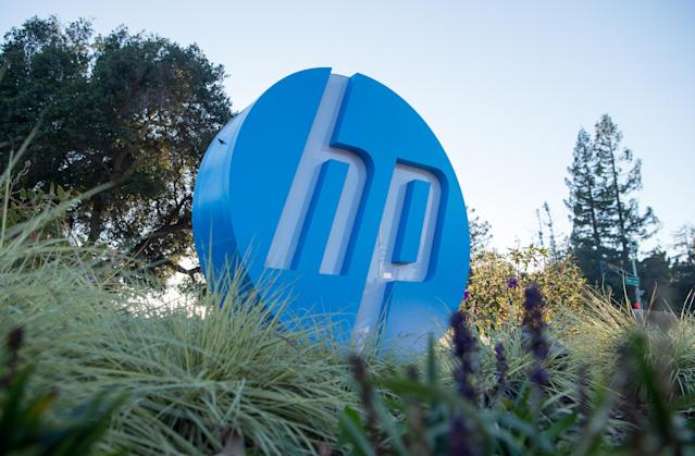 Earnings from both HP's legacy business and its spun-off enterprise unit will be a focus for investors on Thursday. (AFP | JOSH EDELSON)