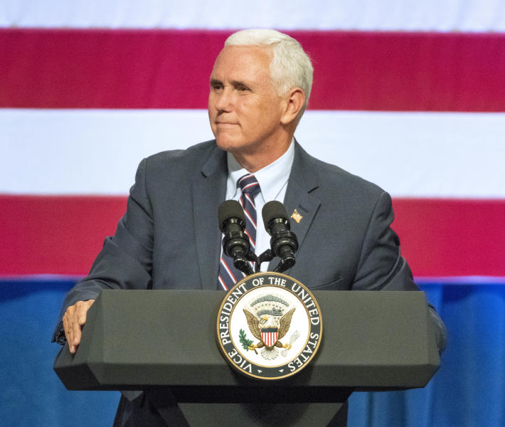 Vice President Mike Pence paints China as enemy in USA  election