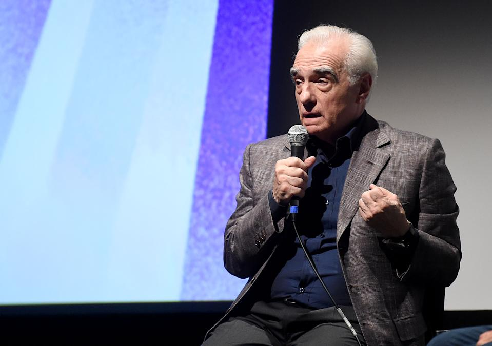NEW YORK, NEW YORK - SEPTEMBER 28: Martin Scorsese attends the 57th New York Film Festival - On Cinema: Martin Scorsesee at Alice Tully Hall, Lincoln Center on September 28, 2019 in New York City. (Photo by Jamie McCarthy/Getty Images for Film at Lincoln Center)
