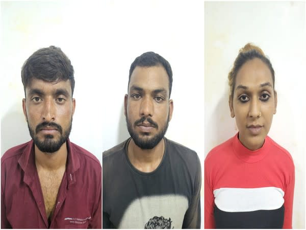 The three arrested accused (Photo/ANI)