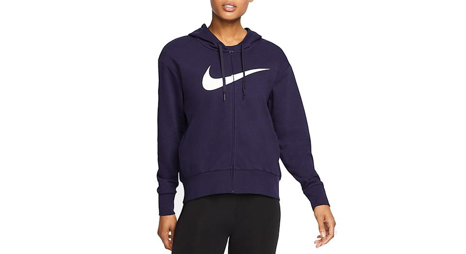 Women's Full-Zip Training Hoodie Nike Dri-FIT Get Fit (Nike)