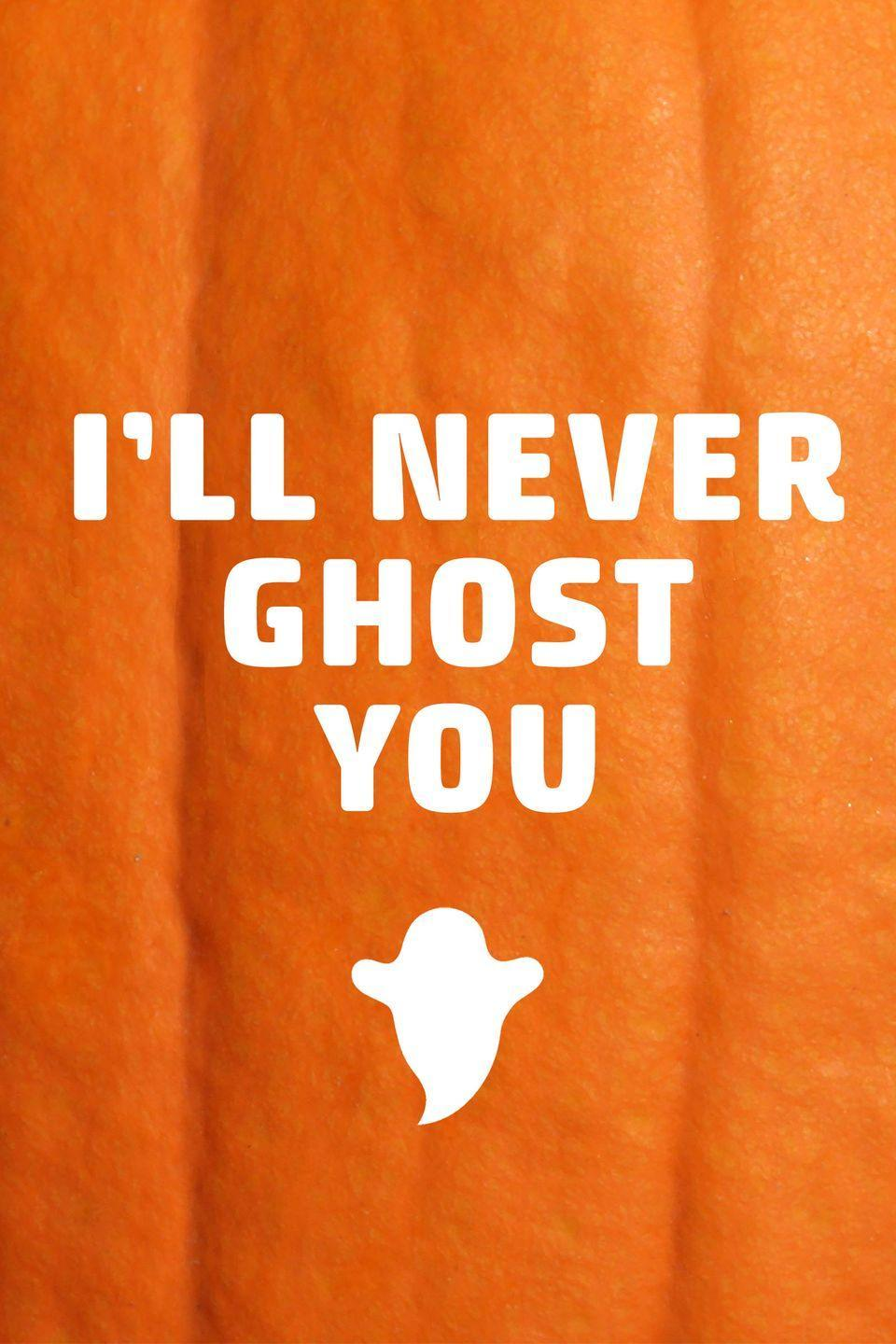<p>Think of this one as a modern love letter you can carve into your pumpkin.</p>