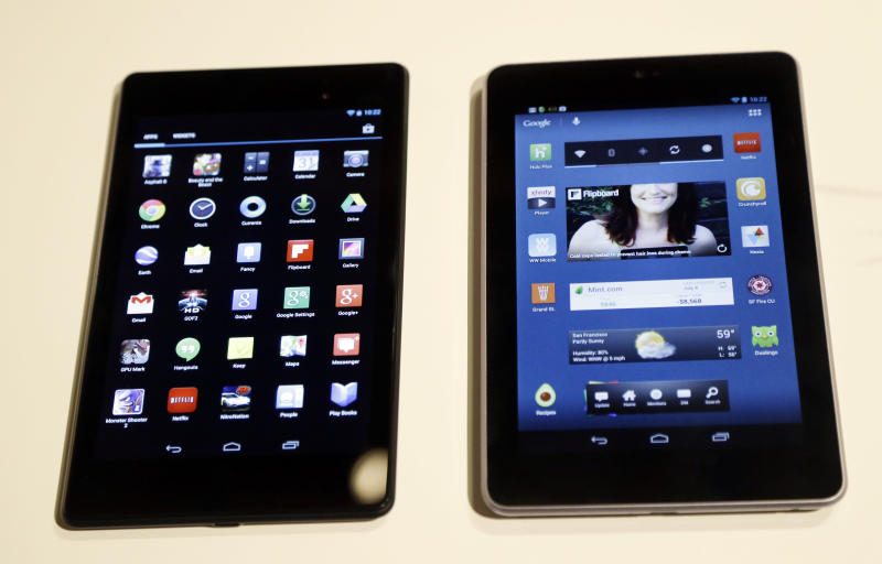 How new Google Nexus 7 compares with rivals